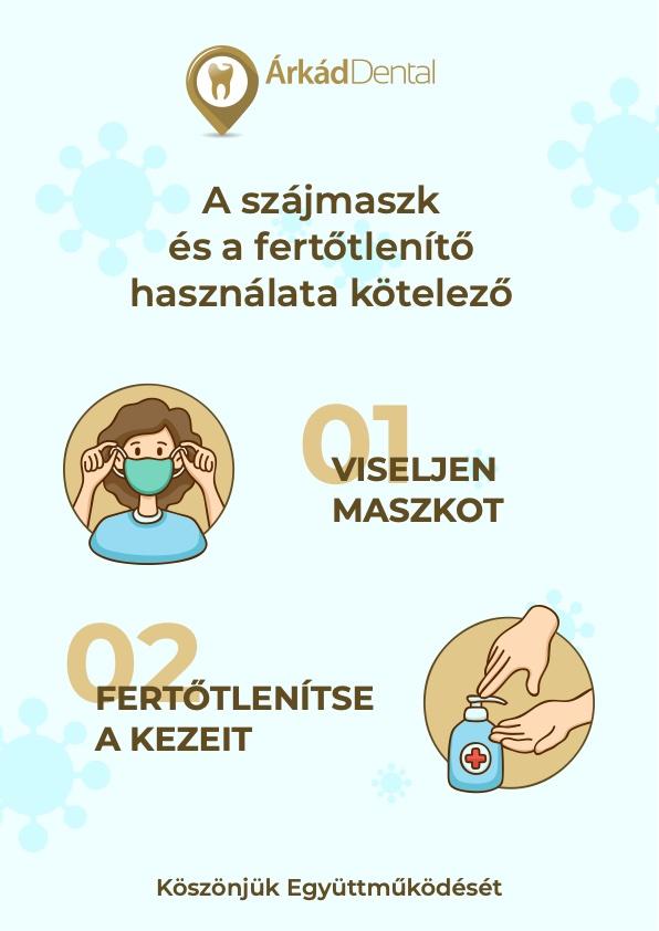 Árkád Dental Fogászat - Covid